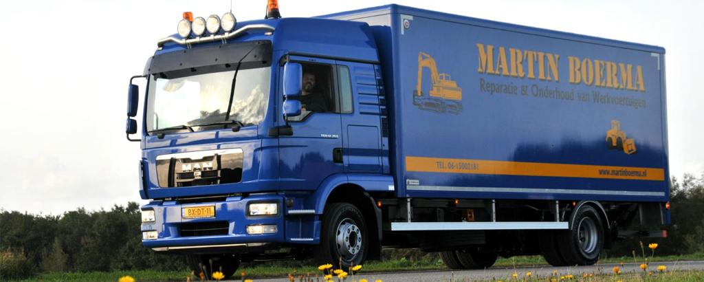 Martin Boerma Reparatie en Onderhoud van werkvoertuigen